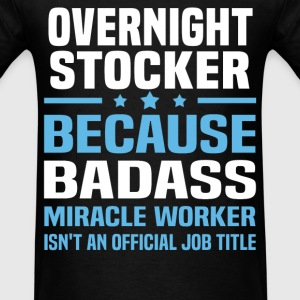 Overnight Stocker Tshirt - Men's T-Shirt
