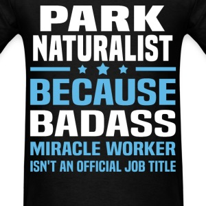 Park Naturalist Tshirt - Men's T-Shirt