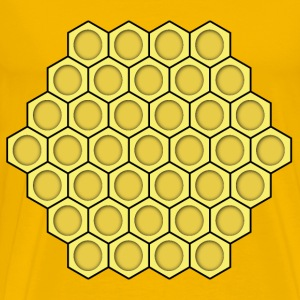 honeycomb - Men's Premium T-Shirt