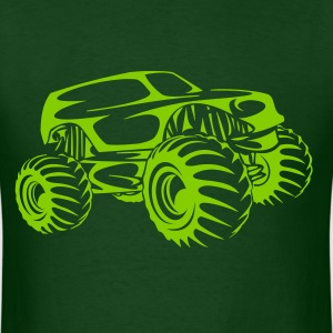Monster Truck Abstract T-Shirts - Men's T-Shirt