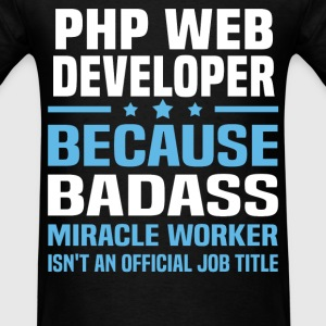 PHP Web Developer Tshirt - Men's T-Shirt