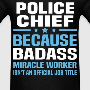 Police Chief Tshirt - Men's T-Shirt