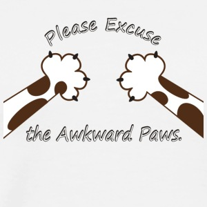 Awkward Paws - Men's Premium T-Shirt