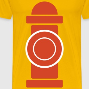 Fire hydrant - Men's Premium T-Shirt