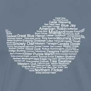 Men's Bird Name and Silhouette T-Shirt  - Men's Premium T-Shirt