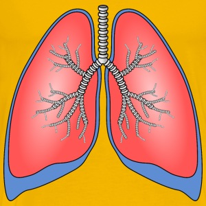 Polmoni Lungs - Men's Premium T-Shirt