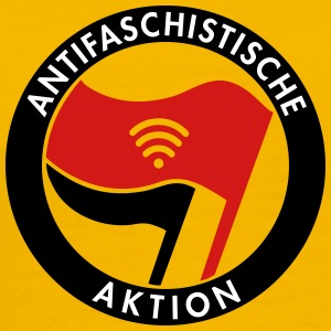 Antifa WiFi - Men's Premium T-Shirt