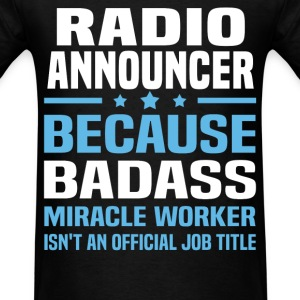 Radio Announcer Tshirt - Men's T-Shirt