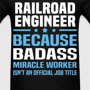 Railroad Engineer Tshirt - Men's T-Shirt