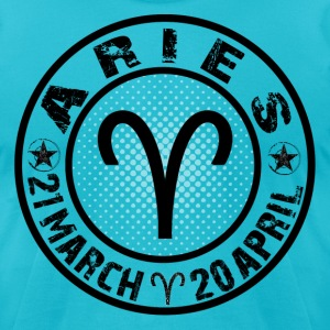 -ARIES- T-Shirts - Men's T-Shirt by American Apparel