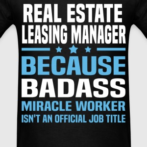 Real Estate Leasing Manager Tshirt - Men's T-Shirt