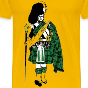 Scottish Highlander - Men's Premium T-Shirt