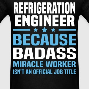Refrigeration Engineer Tshirt - Men's T-Shirt