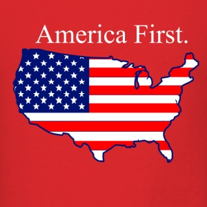 America First. T-Shirts - Men's T-Shirt