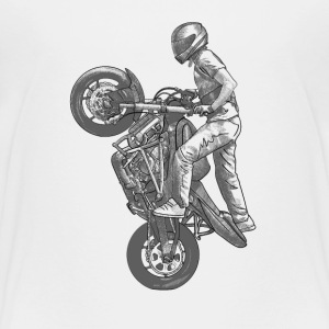 Stunt riding Baby & Toddler Shirts - Toddler Premium T-Shirt