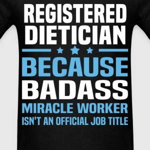 Registered Dietician Tshirt - Men's T-Shirt