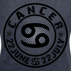 -CANCER- T-Shirts - Women´s Rolled Sleeve Boxy T-Shirt