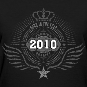 born_in_2010_crown16 T-Shirts - Women's T-Shirt