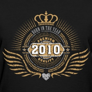 born_in_2010_crown18 T-Shirts - Women's T-Shirt