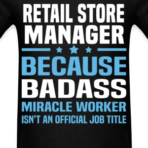 Retail Store Manager Tshirt - Men's T-Shirt