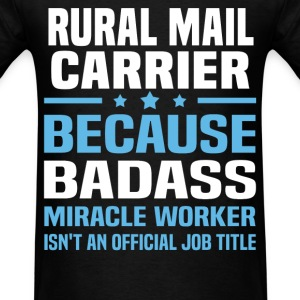 Rural Mail Carrier Tshirt - Men's T-Shirt