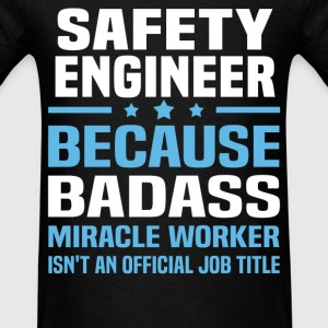 Safety Engineer Tshirt - Men's T-Shirt