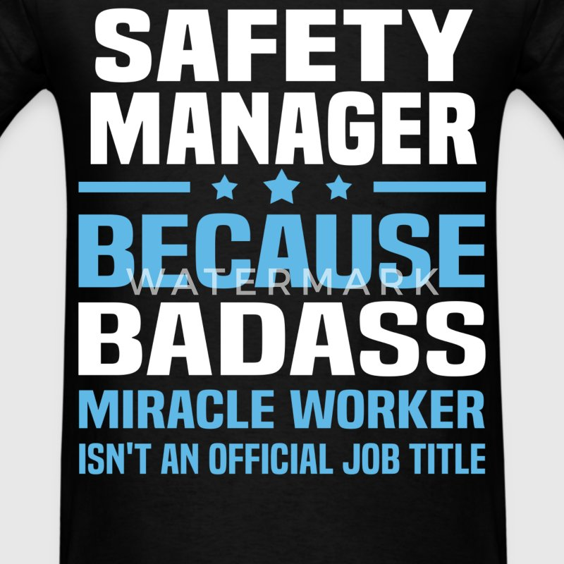 Safety Manager Tshirt - Men's T-Shirt