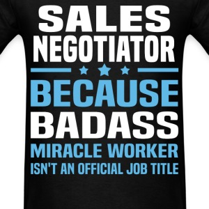 Sales Negotiator Tshirt - Men's T-Shirt