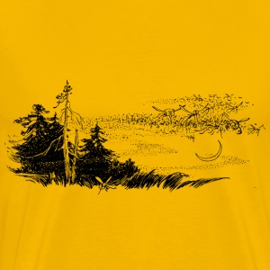 Moskitos in the woods - Men's Premium T-Shirt