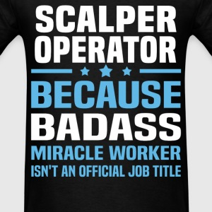 Scanner Operator Tshirt - Men's T-Shirt