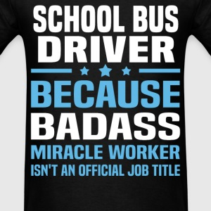 School Bus Monitor Tshirt - Men's T-Shirt