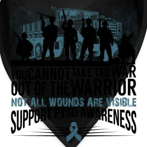 PTSD AWARENESS Caps - Bandana