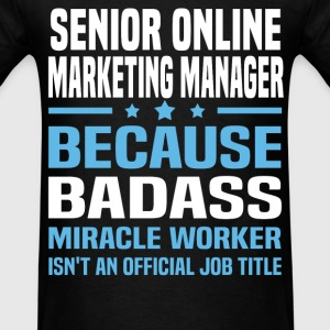 Senior Online Product Manager Tshirt - Men's T-Shirt
