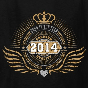 born_in_2014_crown18 Kids' Shirts - Kids' T-Shirt