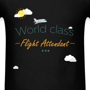 Flight attendant - World Class Flight Attendant - Men's T-Shirt