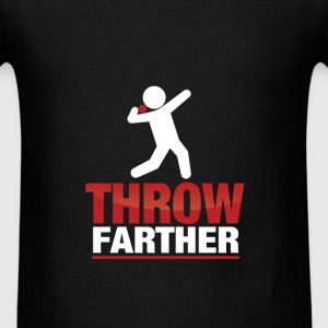 Shot put - Throw Farther - Men's T-Shirt