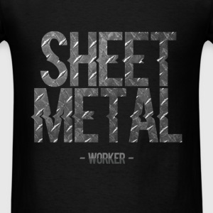 Sheet Metal Worker - Sheet Metal Worker - Men's T-Shirt