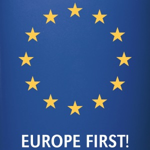 Europe First! Mugs & Drinkware - Full Color Mug