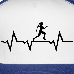 Running Woman & Heartbeat Sportswear - Trucker Cap