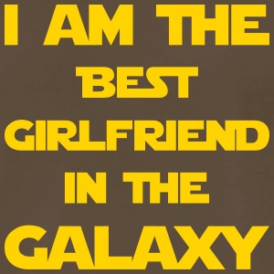 I'm the best girlfriend in the galaxy! - Men's Premium T-Shirt