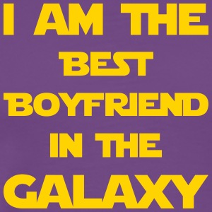 I'm the best boyfriend in the galaxy! - Men's Premium T-Shirt