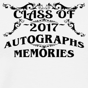 Class of 2017 Autographs and Memories Keepsake Tee - Men's Premium T-Shirt