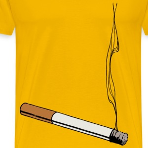 Colour Cigarette - Men's Premium T-Shirt