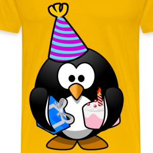 Party Penguin - Men's Premium T-Shirt