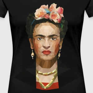 Frida khalo women black T-shirt - Women's Premium T-Shirt