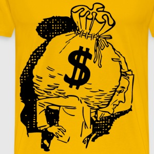 Big Bag Of Money - Men's Premium T-Shirt