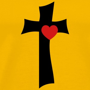 From the cross with love - Men's Premium T-Shirt