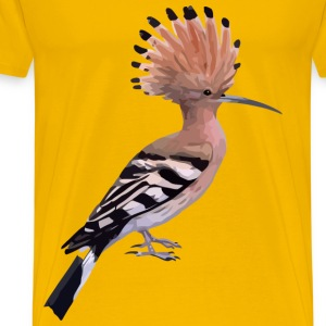 hoopoe - Men's Premium T-Shirt