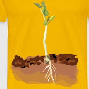 Sprouting Pea - Men's Premium T-Shirt