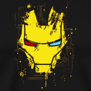 IronMan Mask - Men's Premium T-Shirt
